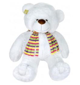 Белый мишка с шарфиком